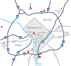 DC Service Map